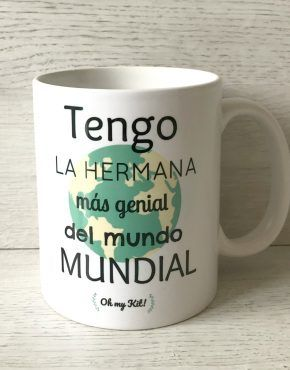 Taza hermana genial